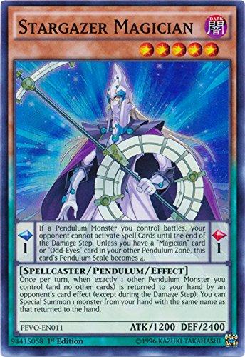 Stargazer Magician - PEVO-EN011 - Super Rare - 1st Edition - Pendulum Evolution (1st Edition)