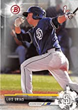 Baseball MLB 2017 Bowman Prospects #BP107 Luis Urias Padres
