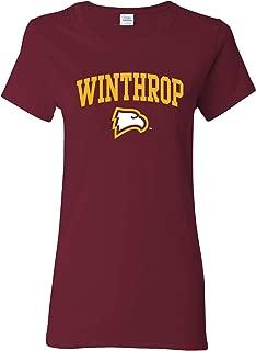 NCAA Arch Logo, Team Color Womens T Shirt, College, University