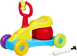 Playskool - Explore n Grow - Bounce n' Ride + Stationary Mode - with Sounds & Music - Baby & Toddler Toys - Ages 12 Months...