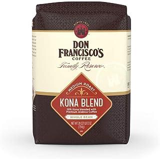 Don Francisco's Kona Blend Medium Roast Whole Bean Coffee (28 oz Bag)