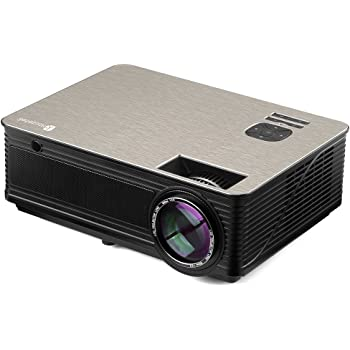 Proyector LED, Houzetek Proyectores 4000 Lúmenes 1080P Full HD ...