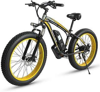 Hsart biciclette elettriche per adulti, mountainbike fuoristrada lega alluminio 500w