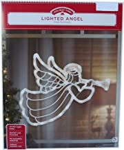 Lighted Angel Indoor/Outdoor Christmas or Easter Holiday Decoration, Lights Up, 18 x 14 Inches