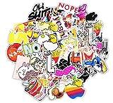 AllRing Sticker Pack (150 PCS) Vinilo Pegatinas para portátiles, Botellas de Agua, Equipaje, monopatín, PS4, Xbox One, iPhone, los Mejores Regalos para Adultos, Adolescentes, niños y niñas (Style 2)