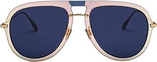 Dior Men's DIORULTIME1LKSA9 Beige Metal Sunglasses