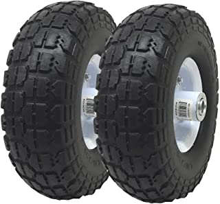 pressure washer tires and wheel assemblies