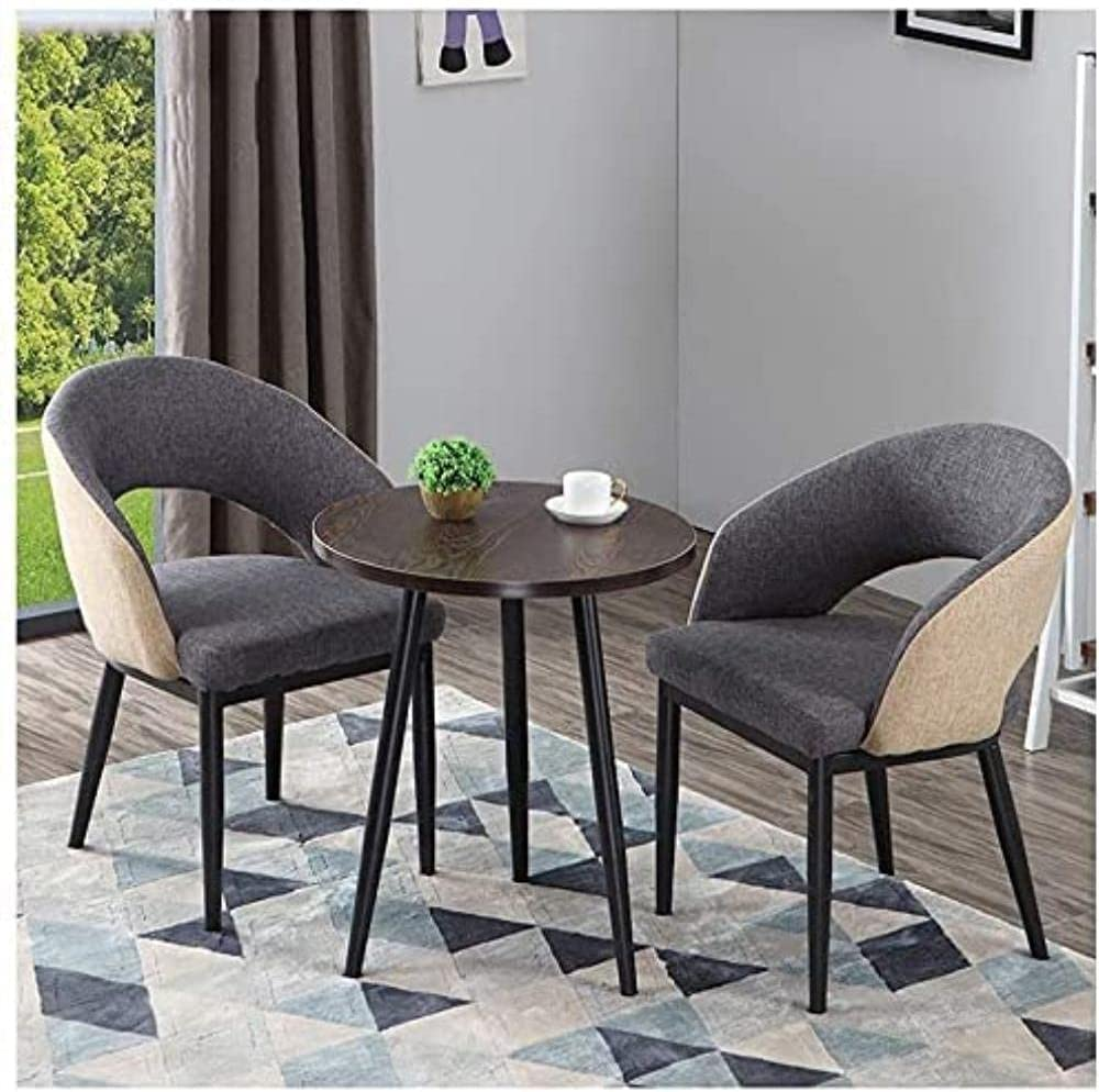XKUN Dining Table Set for Home Various and Shops Genuine Free Shipping Chai Max 85% OFF 2 1