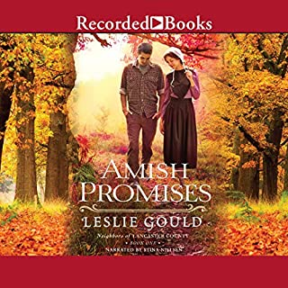 Amish Promises     Neighbors of Lancaster County              By:                                                                                                                                 Leslie Gould                               Narrated by:                                                                                                                                 Stina Nielsen                      Length: 13 hrs and 12 mins     3 ratings     Overall 5.0