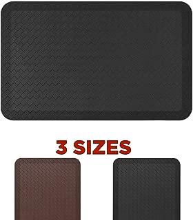Standing Comfort Anti Fatigue Mat: Foam Ergonomic Standing Floor Mat - Non Slip Cushioned Kitchen Mat - Anti-Fatigue Standing Desk Pad - Durable & Stain Resistant Top - 20