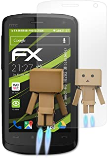 atFoliX FX-Mirror displayskyddsfolie för HTC Touch-HD T8282 Blackstone
