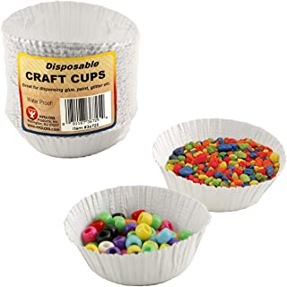 Hygloss Products 36000 Craft Cups 1000 Count, White