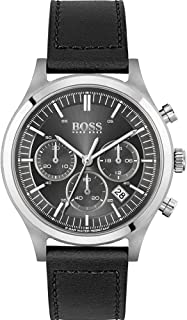 Hugo Boss Men's Analogue Quartz Watch with Leather Strap 1513799