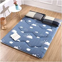 Tatami Mattress, Japanese Tatami Mattress Futon Tatami Sleeping Bed Mattress Portable Camping Mattress Mat Soft Mattress P...