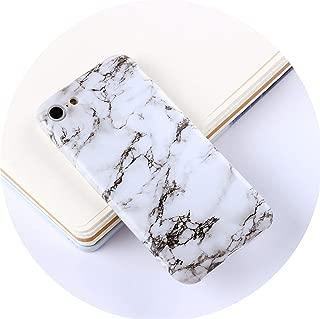 Marble Phone Case for iPhone 7 Case for iPhone X 7 6 6S 8 Plus Case Cover 8Plus 7Plus Coque Fundas Capa carcasa,F4,for iPhone 6S