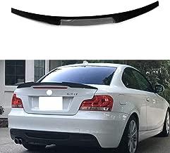 Mosion Auto for BMW E82 1 Series Coupe Rear M4 Style Spoiler Wing Lip Carbon Fiber 2008-2013