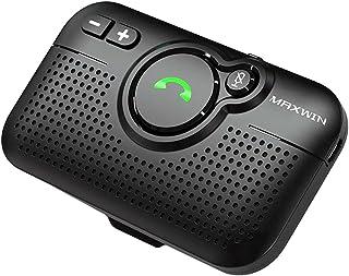 MAXWIN ハンズフリーフォン Bluetooth ワイヤレスフォン 車載 サンバイザー 技適認証済み K-BT011