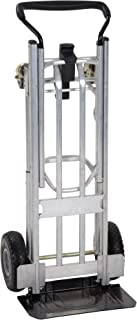 COSCO 3-in-1 Assist Series Hand Truck/Assisted Hand Truck/Cart with flat-free wheels