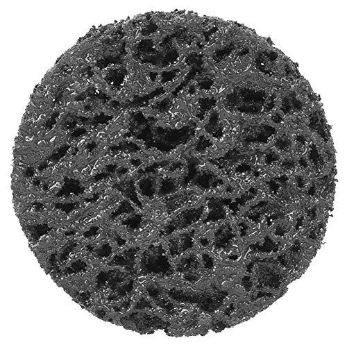 Geräuscharmer, gleichmäßiger Schleifeffekt 50 mm weniger Staubwalzen-Schleifscheibe, Schleifscheibe, zur Verwendung bei der Vorbereitung von(2 inch black)