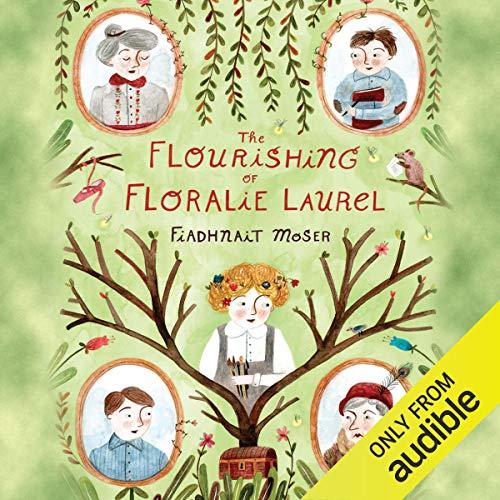 『The Flourishing of Floralie Laurel』のカバーアート