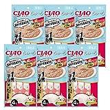 【Amazon.co.jp限定】 チャオ (CIAO) キャットフード CIAOちゅ~る 1歳までの子ねこ用 かつお&かつお節 14g×4本×6袋パック