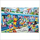 YANGCH 5D DIY Diamond Painting Set Disney Personaje de dibujos animados Full Diamond Cross Stitch Mosaico Pintura Mural decorativo Regalo D061(11.8x15.8inch)