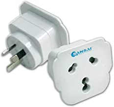 Sansai HA-SS-STV-15 International Universal (spuare) Travel Adaptor to AU/NZ