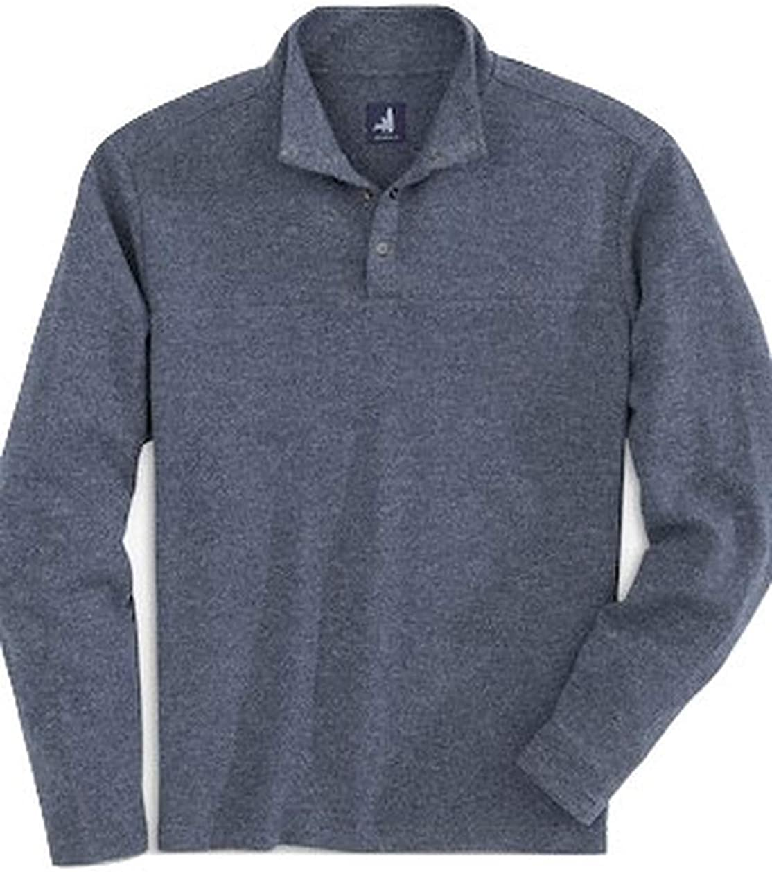johnnie-O Mens Dusty Pullover   Snap Closure   Tweener Button   Casual Warmth