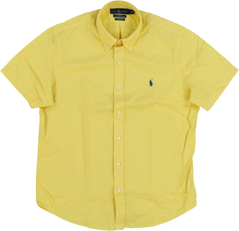 Ralph Lauren Mens Short Sleeve Twill Shirt