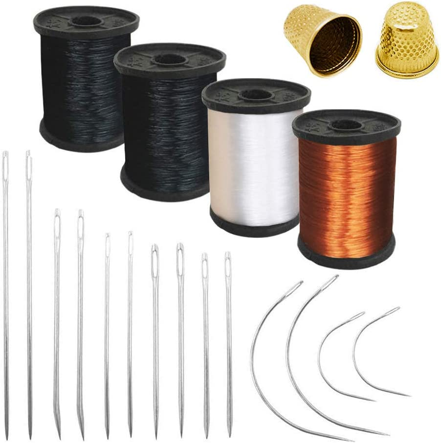 Pack of 20 Hand El Paso Ranking TOP15 Mall Sewing Thim Upholstery Needles Thread +