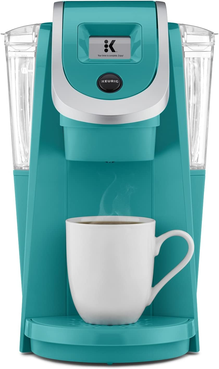 Keurig K250 Coffee Maker, Single Serve K-Cup Pod Coffee Brewer, With Strength Control, Turquoise