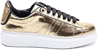 D'ACQUASPARTA Luxury Fashion Womens COURTHIGHTWMEKONG Gold Sneakers | Fall Winter 19
