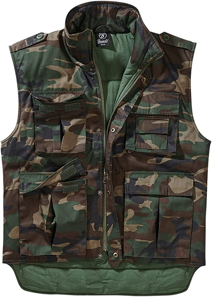Brandit - TACTICAL RANGER Vest wood camo - 3XL