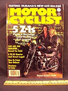 1980 80 July MOTORCYCLIST Magazine (Features: Test on Yamaha XJ650 Maxim, Can Am 400 Qualifier, & Impression: Suzuki GS11 Turbo, + Special Z-1 Section)