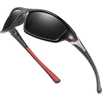 PUKCLAR Polarised Sports Sunglasses for Men Women Running Cycling Fishing Drivi