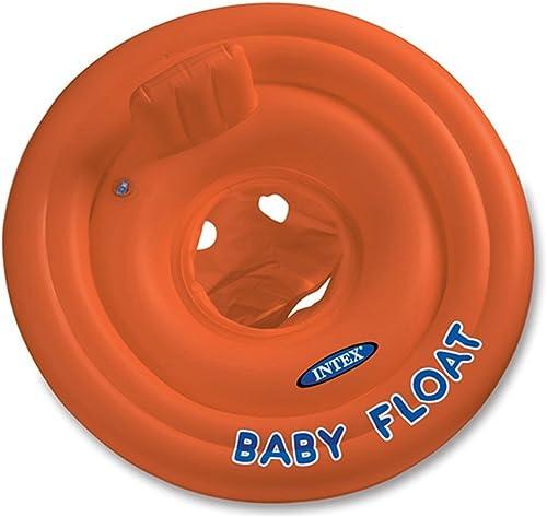 marcas en línea venta barata FFLSDR Anillo de baño para bebés Bebé Sentado Sentado Sentado círculo Niños Anillo de natación 1-3 1-3-6 años (Color   marrón)  forma única