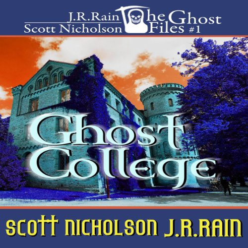 Ghost College audiobook cover art