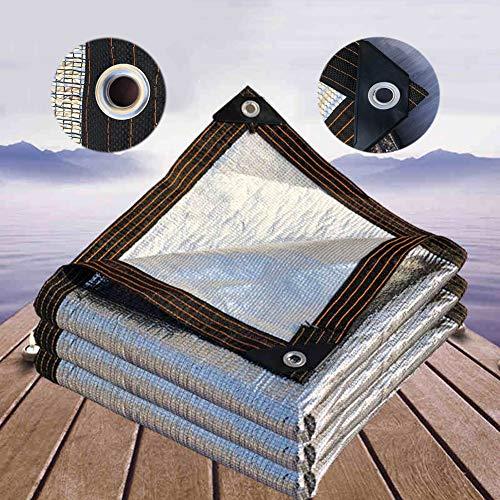 CHAXIA Shading Net Sonnenschutz Schatten Tuch 99% Schattierung Aluminiumfolie Gegen Das Sonnennetz Auto Sonnenschirm, Säumen Loch Spielen Einfach Zu Hängen