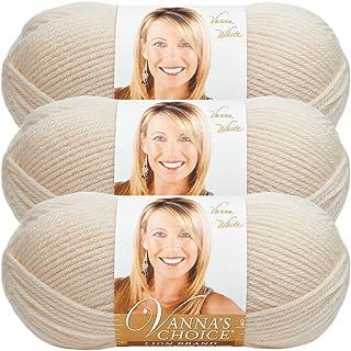 (3 Pack) Lion Brand Yarn Vanna's Choice Yarn, Fisherman