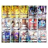 Emeili Juego de Cartas Compatible con Pokemon, 150 Piezas Tarjetas Que Incluye 80 Cartas de New Tag Team+40 Cartas de Mega Ex+20 Cartas de Ultra Beast Gx+1 Cartas de Trainer+9 Cartas de Rare Energy
