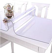 Doorzichtige tafelkleed, Transparante tafelfolie,Doorzichtige plastic tafelkleedhoes,Sterke doorzichtige plastic tafelklee...
