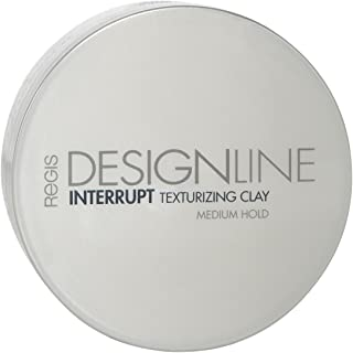 Interrupt Texturizing Clay, 2 oz - Regis DESIGNLINE - Creates Texture, Definition, and Separation with a Medium-Hold to Add Volume for All Hair Styles (2 oz)