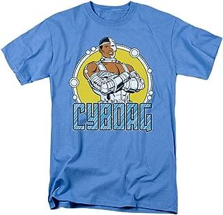 Cyborg Retro Circle T-Shirt
