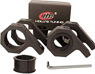 """House Tuning 1.875"""" Roll Cage Clamps 4 Pack,1 7/8"""" Dimeter Tube Clamp Bracket,Roof Bar Clamp for Fog Light Bar (1.875""""-Clamp Mount Kit)"""