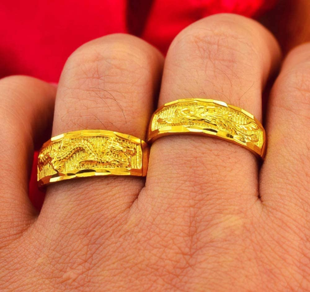 White gold dragon phoenix wedding rings rippex steroid