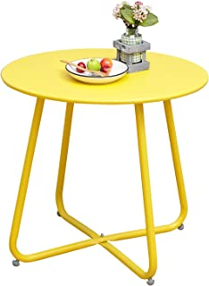 Best yellow patio side table Reviews