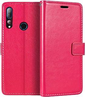 HTC Desire 19 Plus plånboksfodral, premium PU-läder magnetiskt flippfodral med korthållare och ställ för HTC Desire 19S