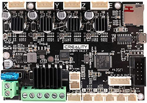 Comgrow Creality Ender3 3D Printer New Upgrade Motherboard Silent Mainboard V4.2.7 (1.1.5) with TMC2225 Driver