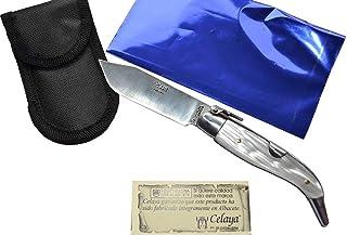Couteau Celaya Classic Albacete Aluminium Pastora Plastique Blanc n 2