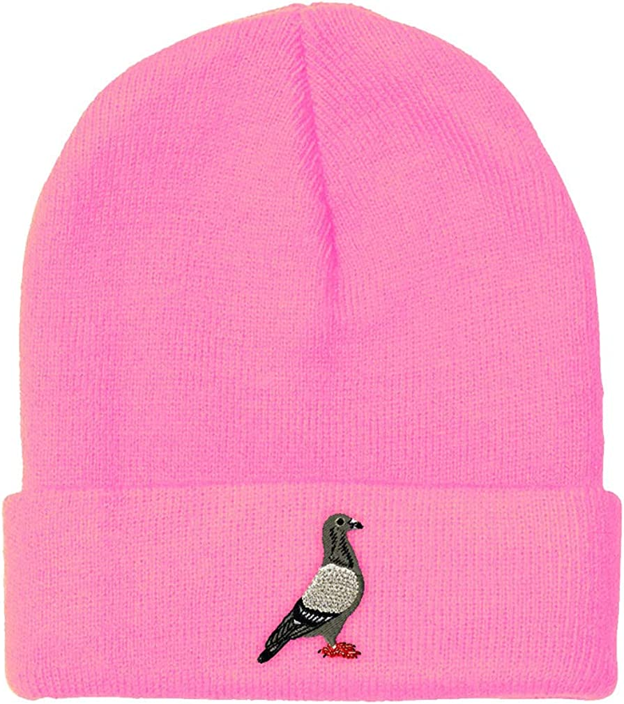 Custom Beanie for Men Women Embroidery Cheap mail order specialty store Skull B Acrylic Pigeon mart